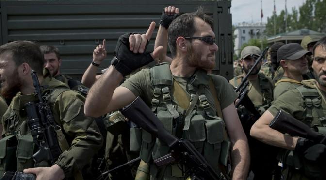 Александр Белов: Чеченцы в Донецк приехали с благословения Кадырова и за деньги