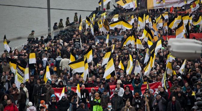 Александр Белов за единый Русский Марш