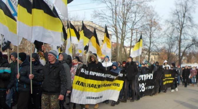 1000-й Русский Марш в Нижнем Новгороде выступил в защиту Белова