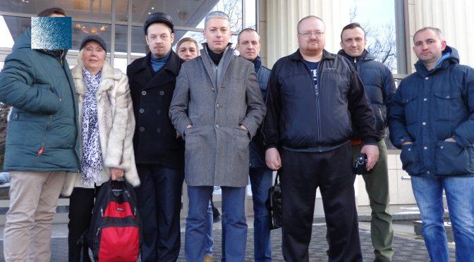 Один из лидеров русских националистов Александр Белов может выйти на свободу 14 апреля. Приходите встречать!